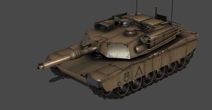 ABRAMS M1A1 TANK FULLY POSEABLE by Oo-FiL-oO.deviantart.com on @DeviantArt
