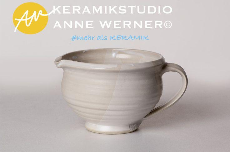 Krüge & Kannen - Krug#MILK - ein Designerstück von KERAMIKSTUDIO_ANNE_WERNER bei DaWanda