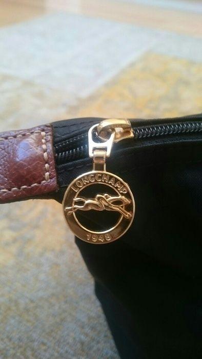 Schwarze Longchamp Tasche