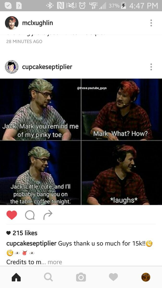 This made me laugh more than it should. I don't ship it but........ Spetiplier away!!!!!!!