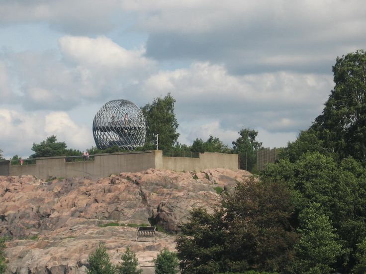 Helsinki, The Zoo, view from the sea (2011)