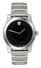 Movado Vizio Bracelet Black Museum Dial Men's Watch #0605808