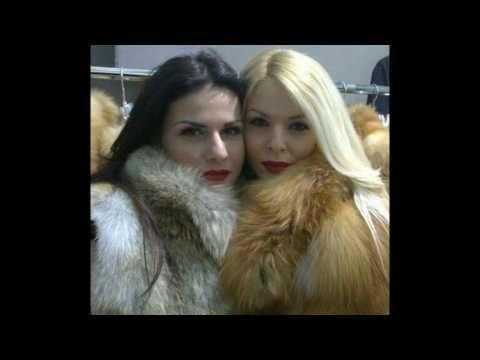 Woman In Colour Fox Fur Part 7