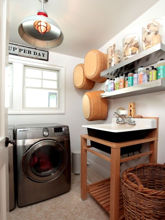 Small Laundry Rooms With Sink
