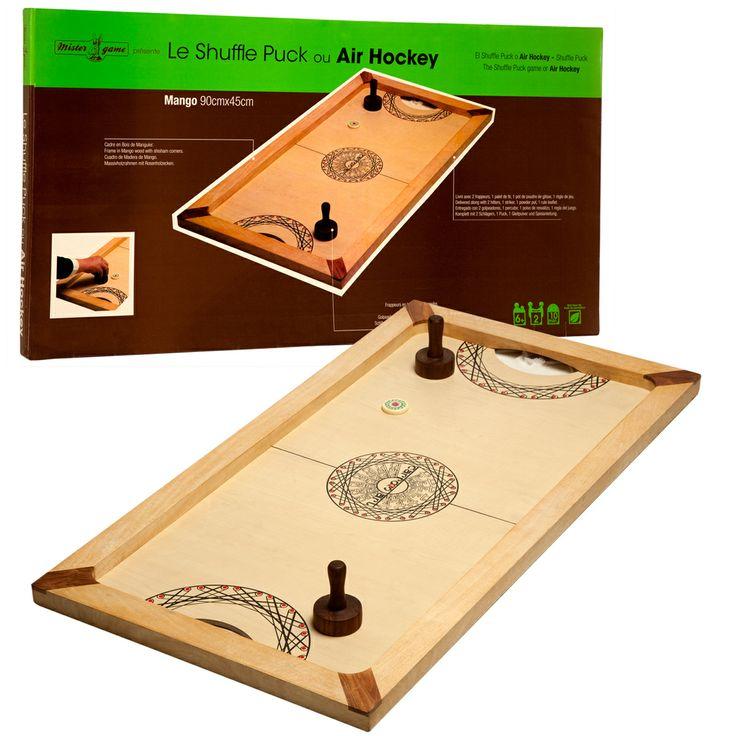 shuffle puck grands jeux en bois sur dimensionn s type. Black Bedroom Furniture Sets. Home Design Ideas