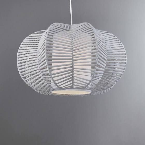 Rattan Ceiling Light Nursery