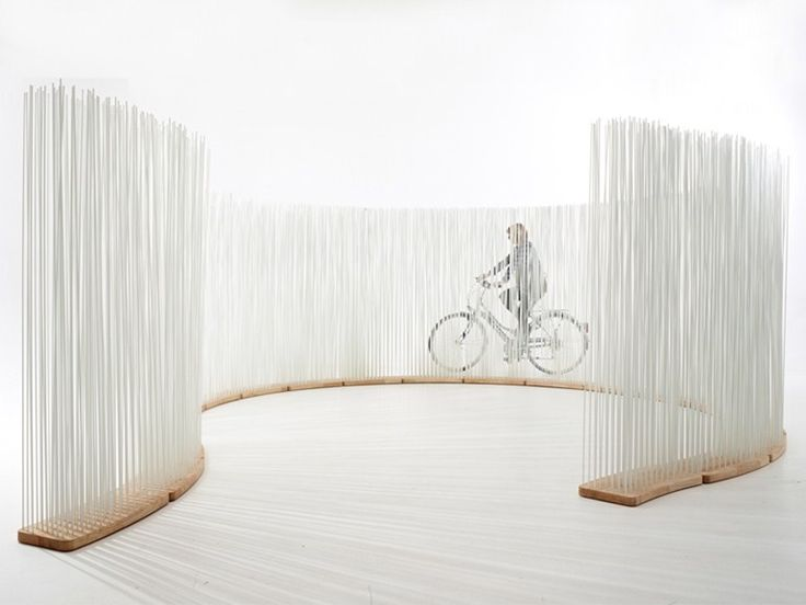 Cloison de jardin STICKS CURVED Collection Sticks by Extremis | design Globalhaus