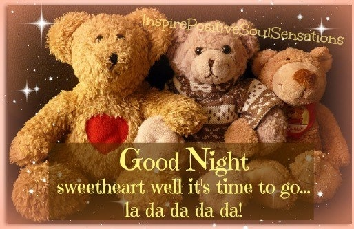 Goodnight Sweetheart Quotes Quotesgram