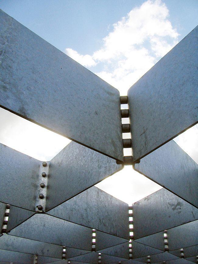 Kiel canopy in antwerp belgium by ney partners and b for Interior design kiel