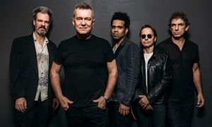 Cold Chisel's Don Walker, Jimmy Barnes, Charley Drayton, Phil Small and Ian Moss.