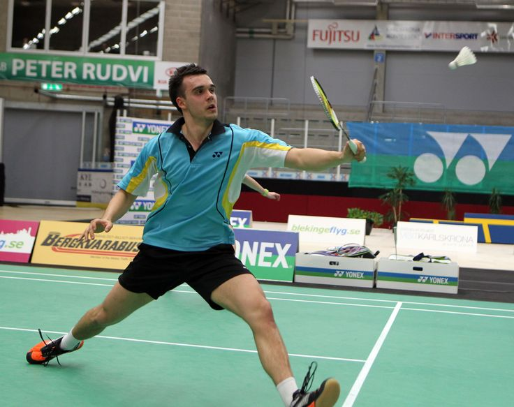 Chris Adcock, Badminton (Reino Unido)