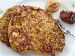 Opskrift på: Super sunde pandekager - In danish!