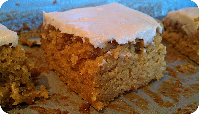gonna add choc. chips and cream cheese frosting instead  Life's Simple Measures: Best Yet! Pumpkin Bars
