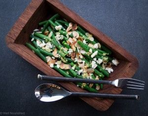 This Green Bean and Almond Salad is a simple, delicious combination of flavours. It is super nourishing and sure to become a family favourite.