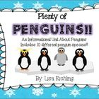This non-fiction penguin unit is sure to grab and keep your students' attention! This unit is jam-packed with information on 10 different species o...
