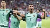 Eurocopa 2016: Cristiano Ronaldo saltó y superó la medida de un arco de fútbol