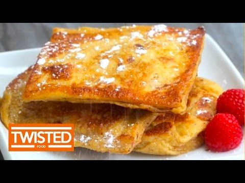 Bacon Stuffed French Toast - Twisted