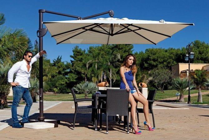 Ombrellone Flexo marrone OpenD http://www.opend.it/shop/ombrelloni-e-gazebo/ombrellone-flexo/