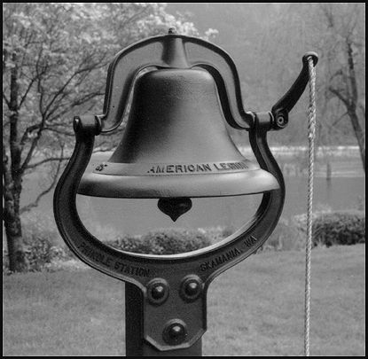 Cast iron schoolhouse bell for my front porch