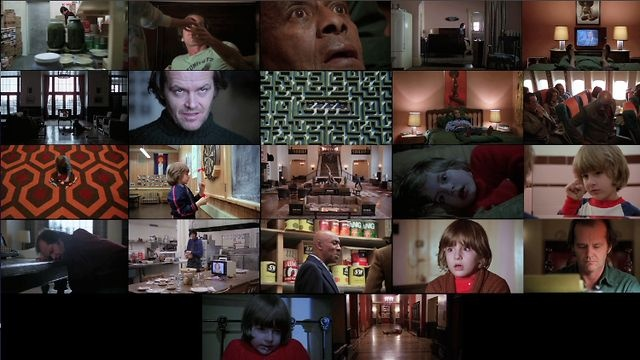 The Shining - Zooms by Ian Kammer. A synchronized collage of every zoom in Stanley Kubrick's 1980 horror masterpiece, The Shining.