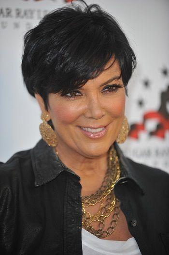 Kris Jenner-Short Celebrity Hairstyles for Women Over 50 l www.sophisticatedallure.com