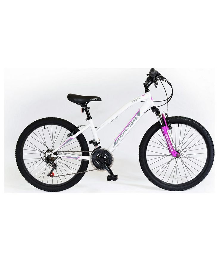 Buy Muddyfox Trinity Hardtail 24 inch Mountain Bike - Girls at Argos.co.uk - Your Online Shop for Children's bikes, Children's bikes.