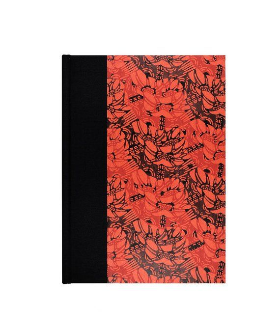 Graph Paper Journal Black And Red ETSY EBAY MERCARI POSHMARK