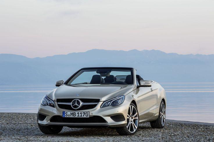 Mercedes-Benz: New E-Class Convertible - Mercedes-Benz E 350 BLUETEC Convertible with Sport Package