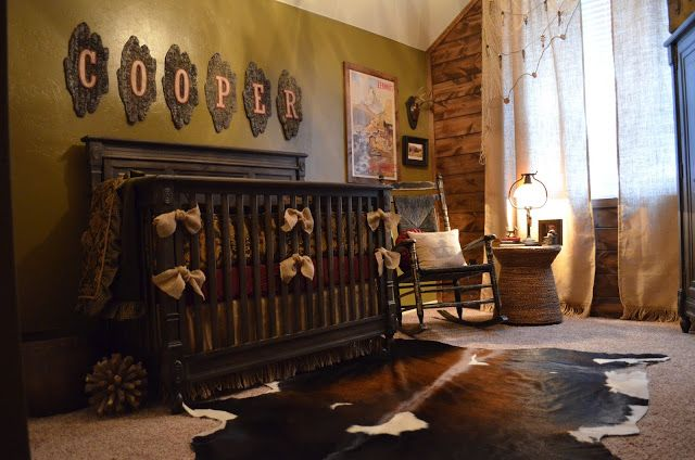 Frilly Little Details: Nursery Reveal: Cooper's Cabin