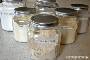 All About Various Gluten Free Flours /// Sharmie's notes:  To follow the GARD protocol, avoid not only gluten flours, but flours made from almonds and legumes.
