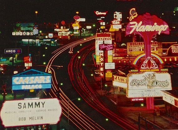 Vintage Las Vegas Caesar/'s Palace Post card