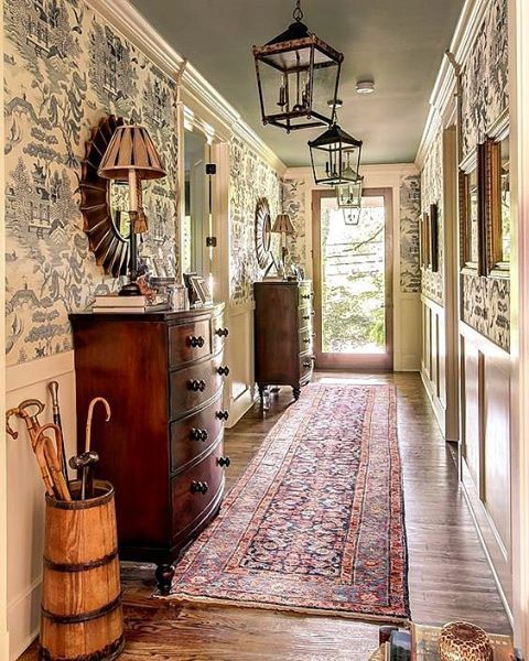 My Dream Home 8 Entryway And Front Hall Decorating Ideas: 25+ Best Ideas About Foyer Wallpaper On Pinterest