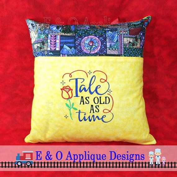 10 diy throw pillow ideas.htm tale as old as time embroidery design beauty and the beast  with  embroidery design beauty and the beast