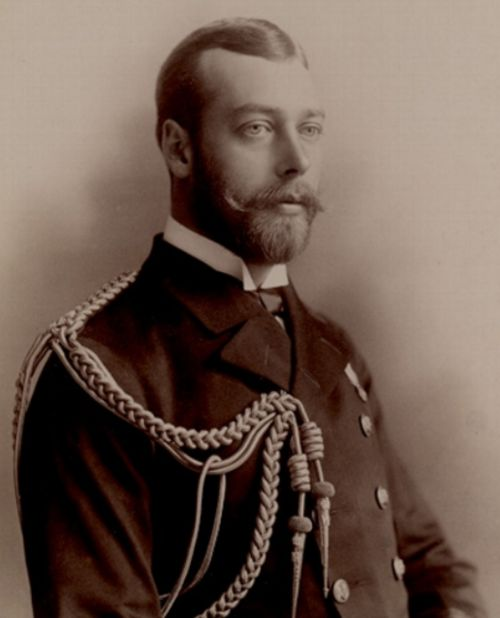 Young King George V.