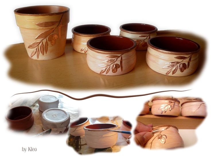 Clay jars with style