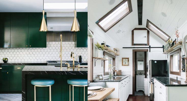 12 smarta och trendiga idéer för små kök