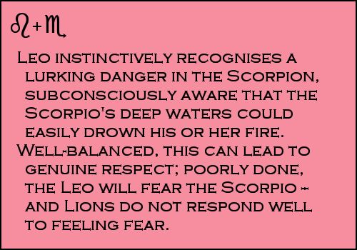 My mommy is a scorpio <3