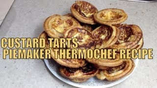 Custard Tarts In a Piemaker Thermochef Video Recipe cheekyricho, via YouTube.