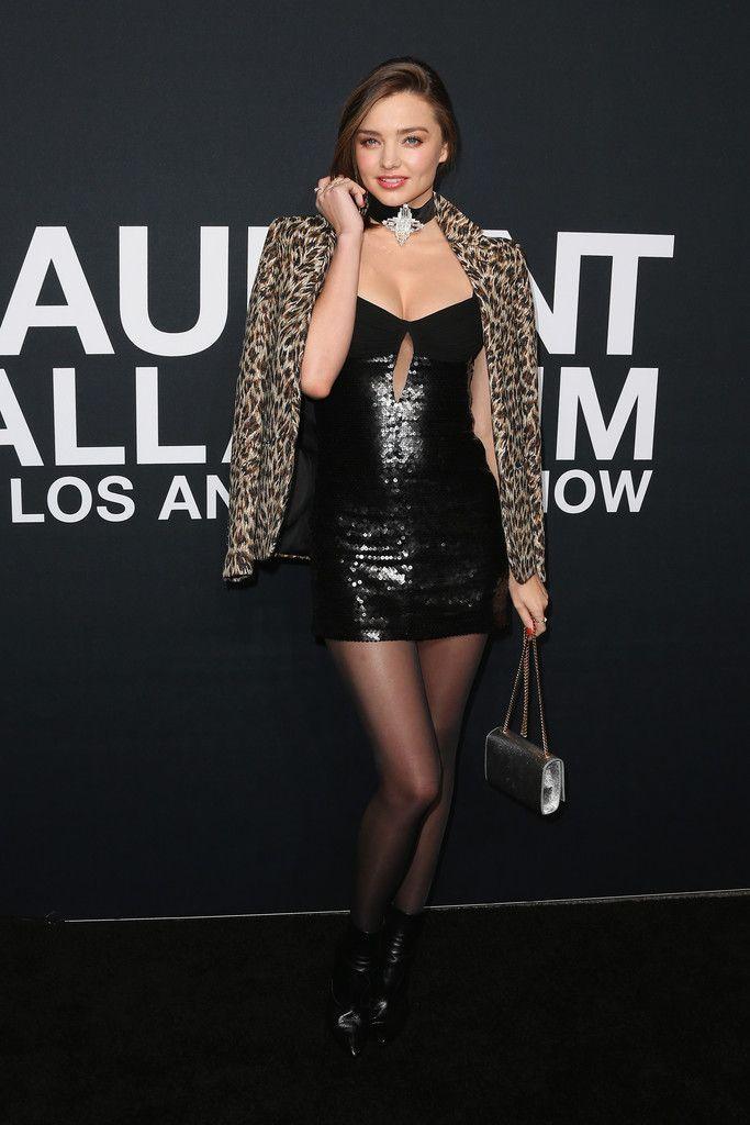 Miranda Kerr at Saint Laurent Show in Los Angeles : Global Celebrtities (F) FunFunky.com