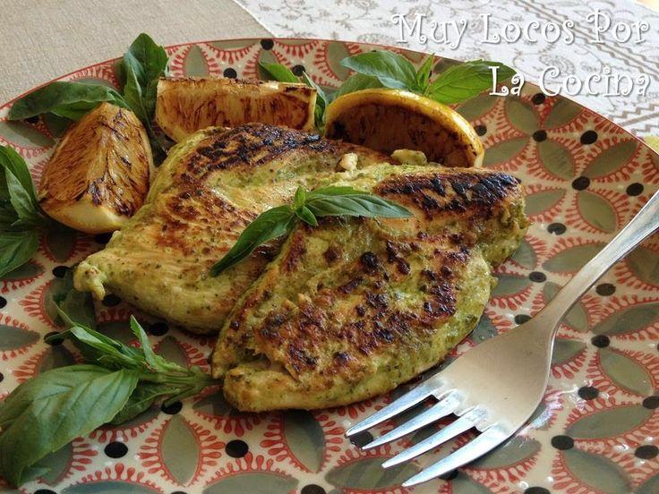 Twittear      ¿Quien dijo que comer sano es renunciar al sabor?   Esta es una receta de filetes de pechuga de pollo marinado...