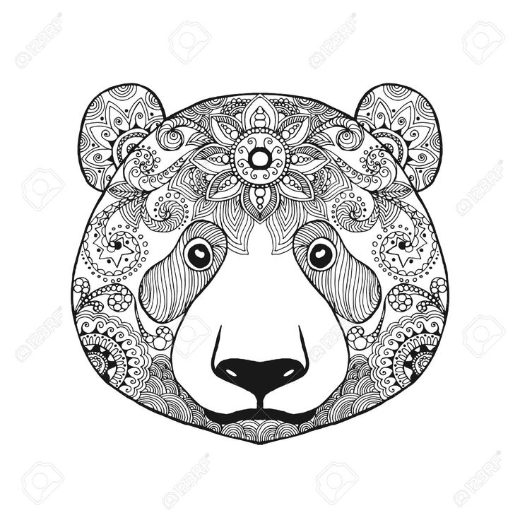 tribal animal coloring pages - photo#4