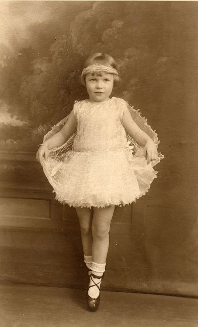 Dot as a fairy in 1930.. found photo