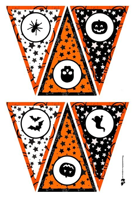 44 best Halloween-Printables images on Pinterest Tags, Halloween - halloween decoration printables