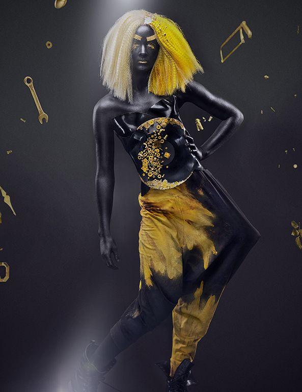 High Fashion. Editorial. Contessa Award Winning Hair and Make Up Artists.