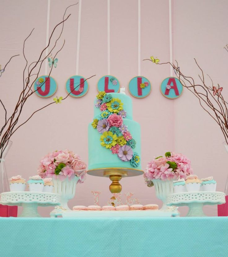 Baby Shower Decorations Garden Theme ~ Enchanted garden baby shower ideas themes