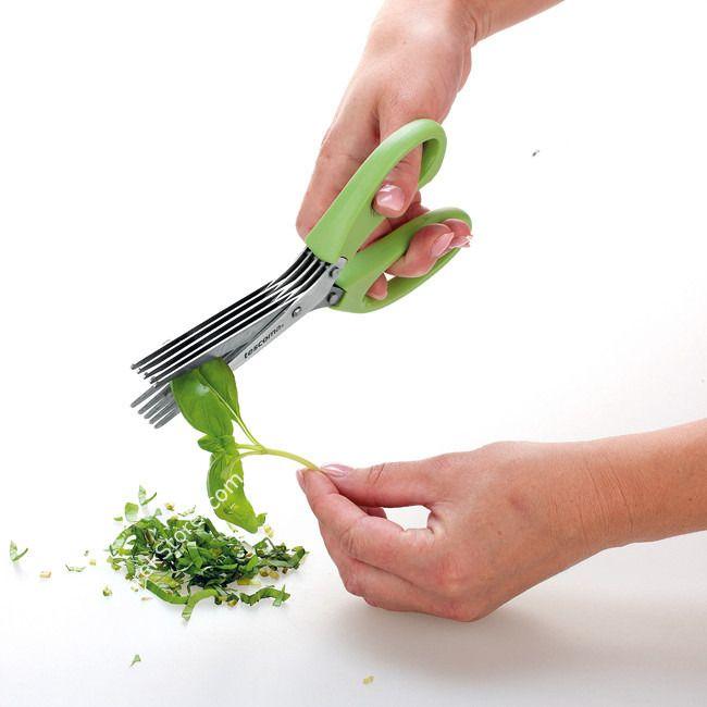 Nożyczki do ziół wielokrotne z pięciorzędowym ostrzem   TESCOMA PRESTO