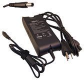 DENAQ - AC Power Adapter and Charger for Select Dell Laptops - Black