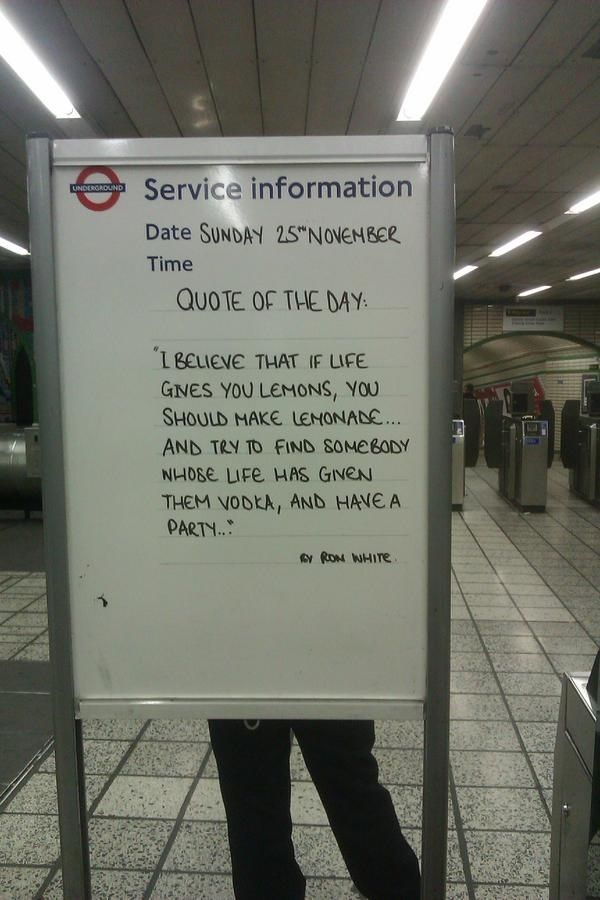 It will be OK. | 24 London Underground Signs That Will Brighten Your Day