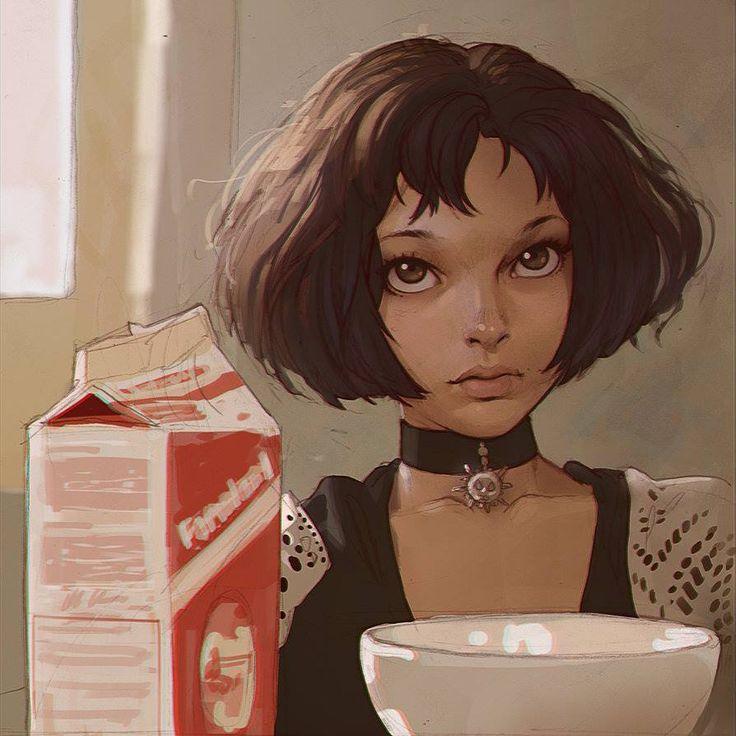 Matilda from Luc Besson's Léon, by kr0npr1nz