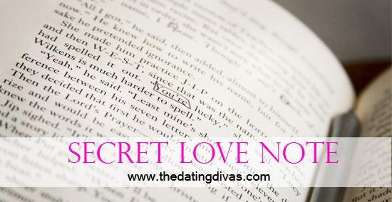 Write a Secret Love Note, using old books! www.thedatingdivas.com #dateideas #datenight #date